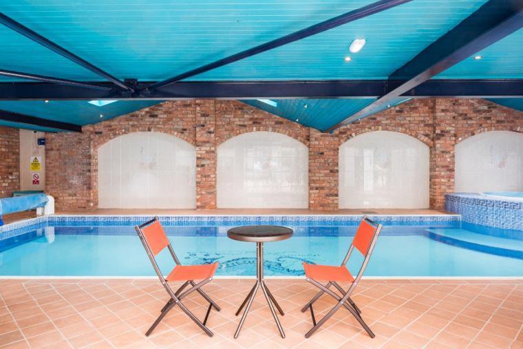 Excellent leisure facilities await at the Manor Barn near Cheltenham
