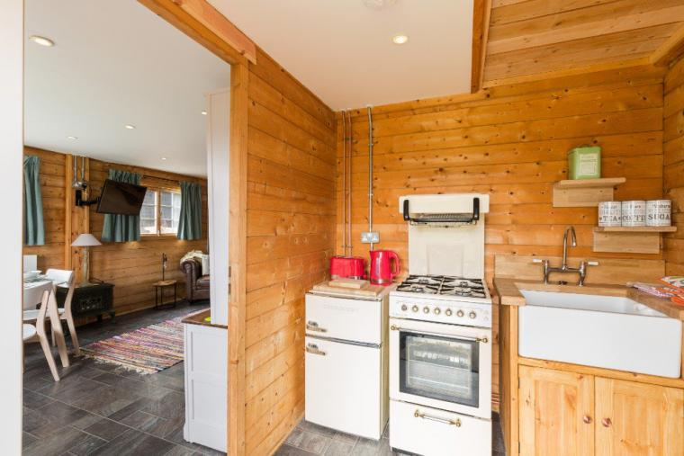 Kitchen at the Summer House