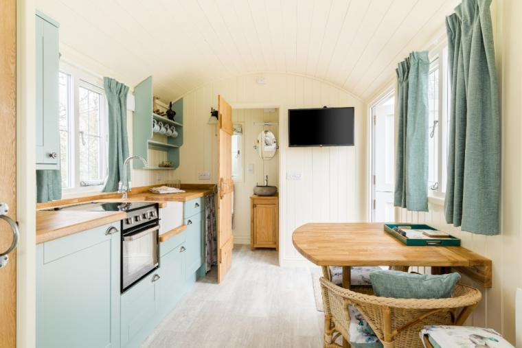 Interior designed Shepherds Hut