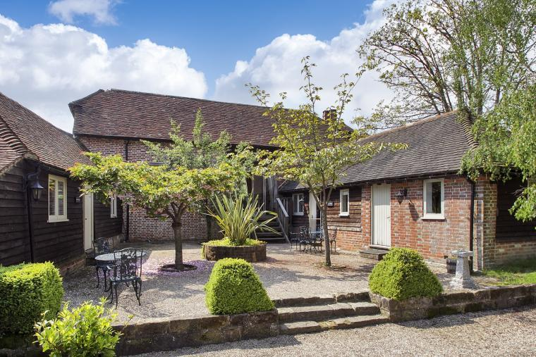 converted barns group accommodation