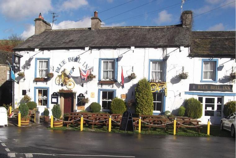 The Bluebell is only a two minute walk from the house