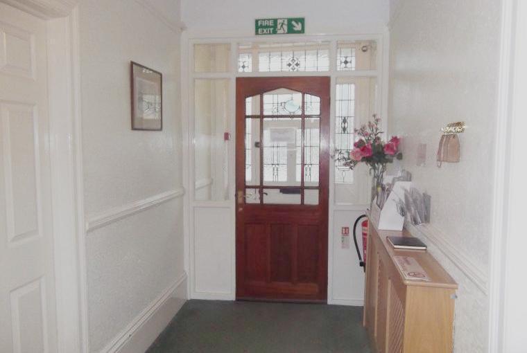 Large spacious hallway