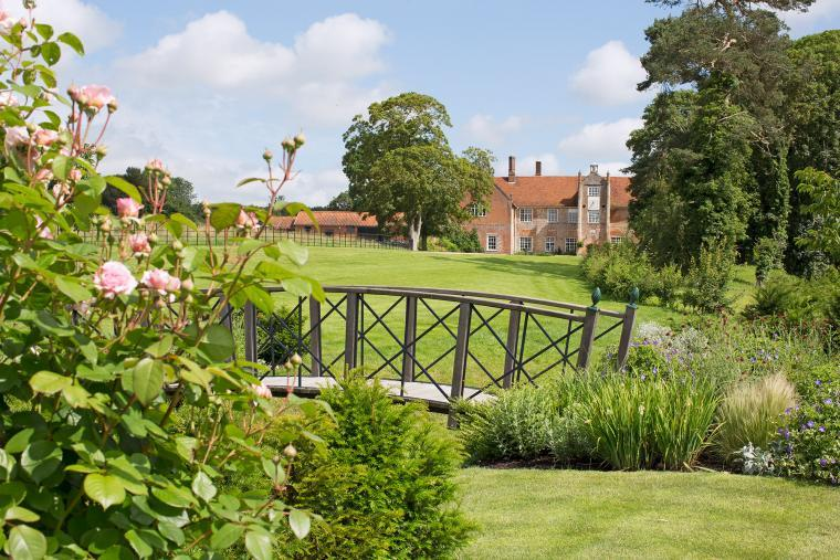 Bruisyard Hall set in 700 acres of private estate
