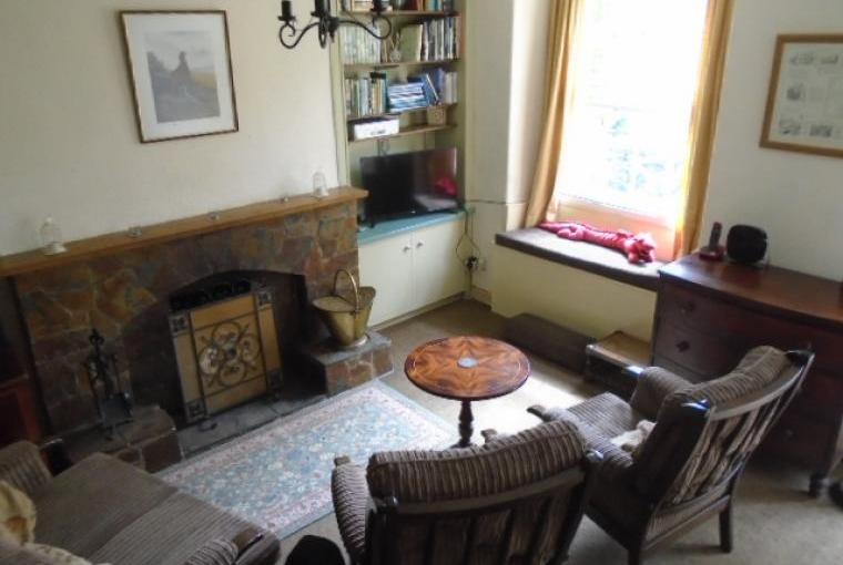 Living Room with views down the Glaslyn Valley