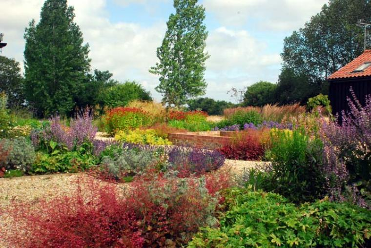 Well planned and maintained gardens