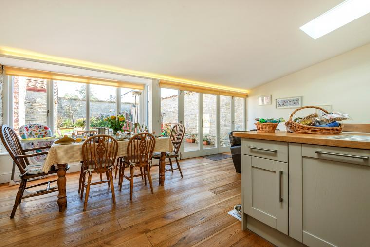 Cossington Park Cottage kitchen & dining