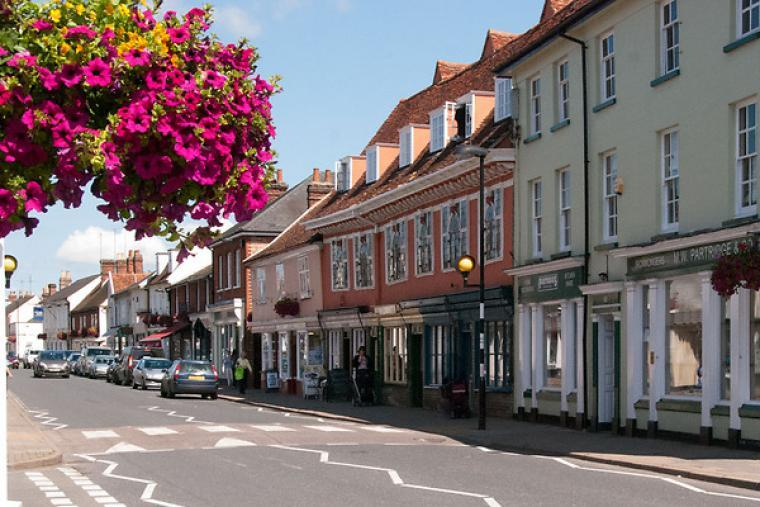 Hadleigh High Street has no 'Clone' shops