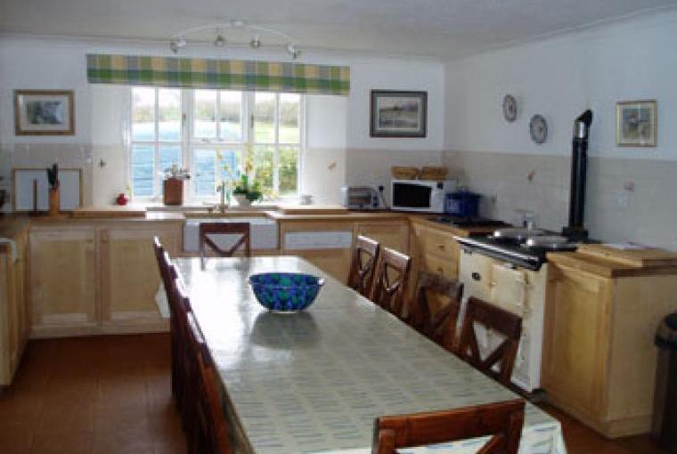 Spacious kitchen, Winstitchen Farm, Somerset
