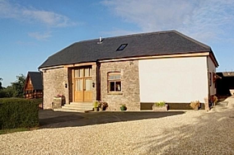 Luxury stone barn conversion