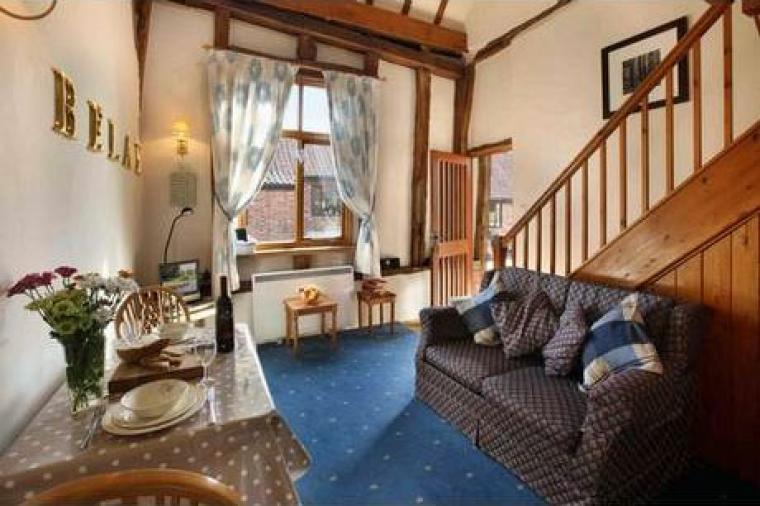 Kersey Cottage in Suffolk sleeps 2 people