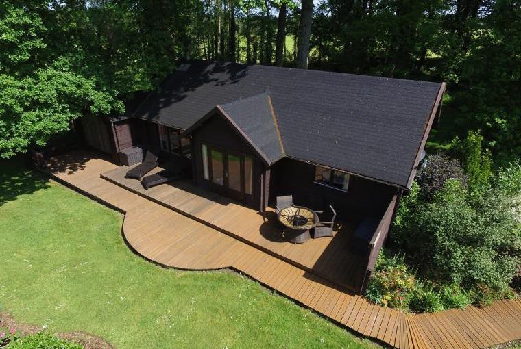 Luxury Log Cabin in Devon