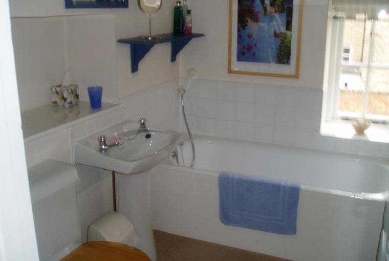 Nice old fashioned bath