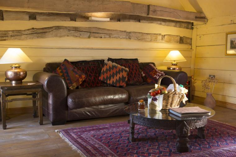 Relax in the lounge, Mill Cottage