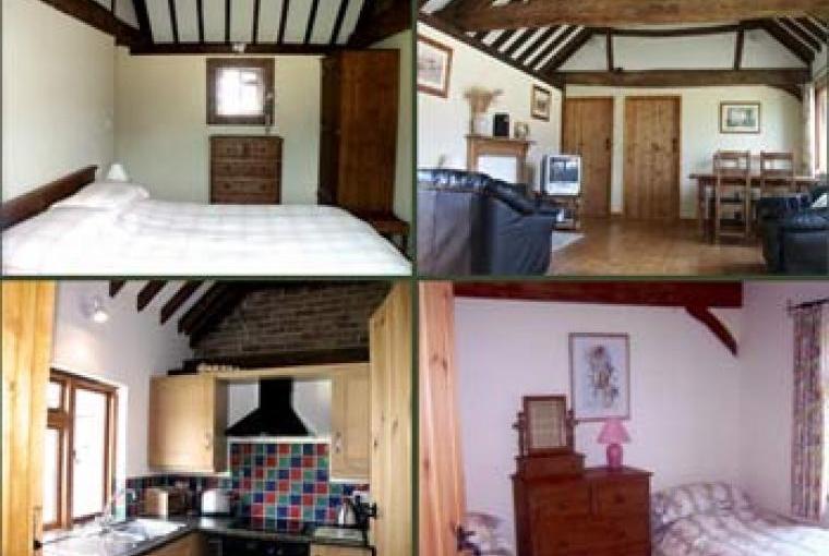 2 bedroom cottage near Thame. Kingsize bed