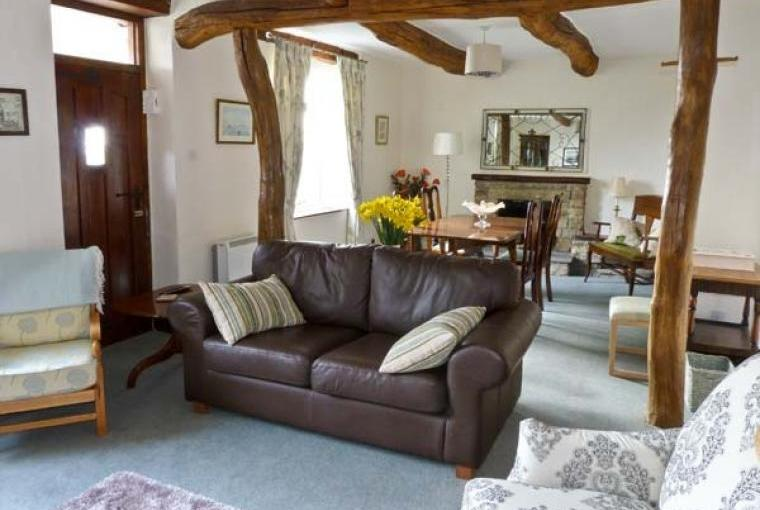 Comfy lounge Bridleways Country Cottage