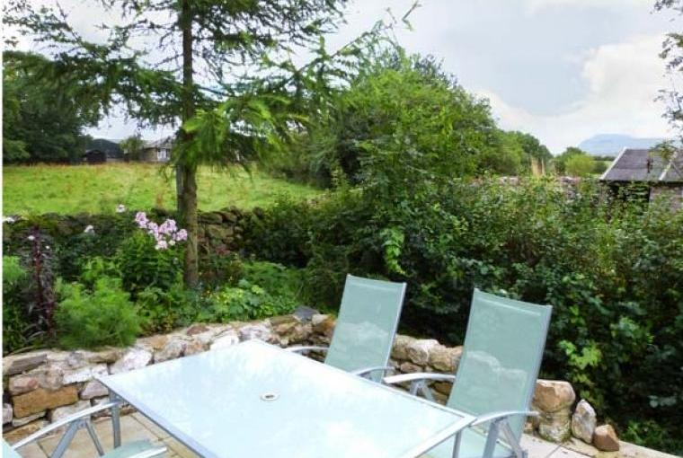 Outdoor dining area Bridleways Country Cottage