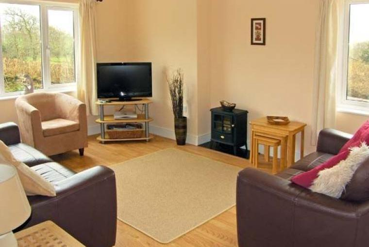 Lounge, Family-Friendly Holiday Bungalow near Narberth