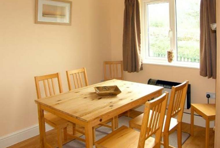 Dining area, Family-Friendly Holiday Bungalow near Narberth