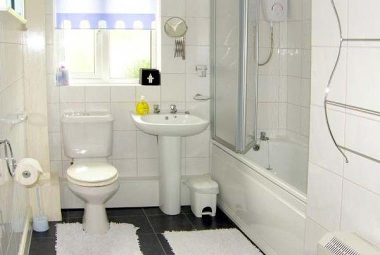 Bathroom, Family-Friendly Holiday Bungalow near Narberth