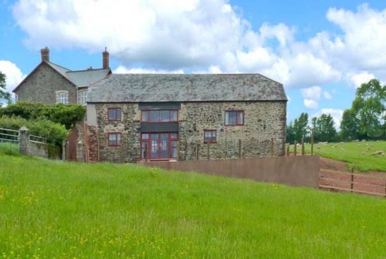 Lake View Barn near Crediton in Devon