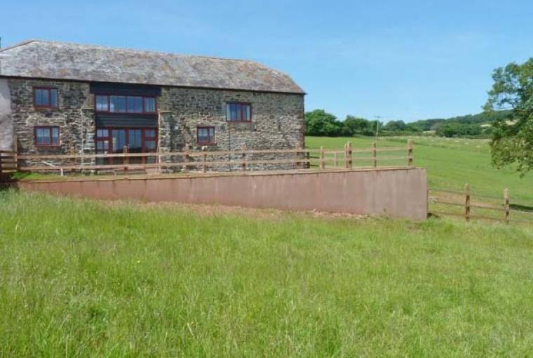 Lakeside Barn near Crediton, Devon