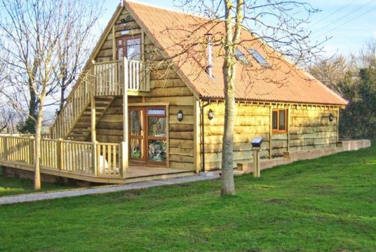 Hazel Wooden Lodge near Exmoor, Cheshire, Photo 2