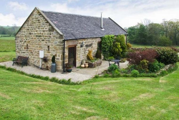 Garden Cottage set next to unspoilt Derbyshire countryside