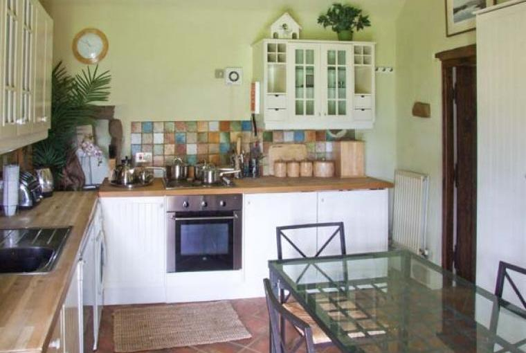 Well equipped kitchen at Garden Cottage