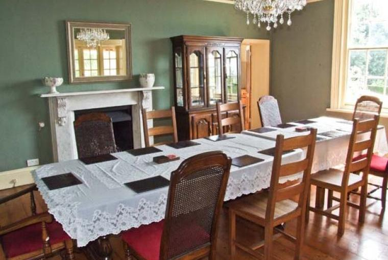 Dining room for special occasions