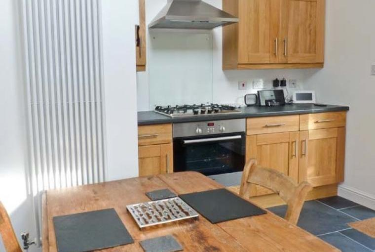 Kitchen at the Dairy Country Cottage