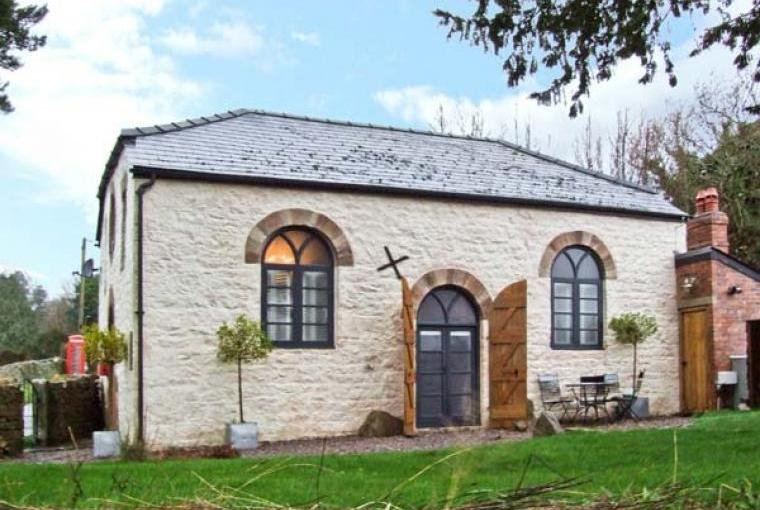 Old Wye Valley Chapel, Monmouthshire, Wales