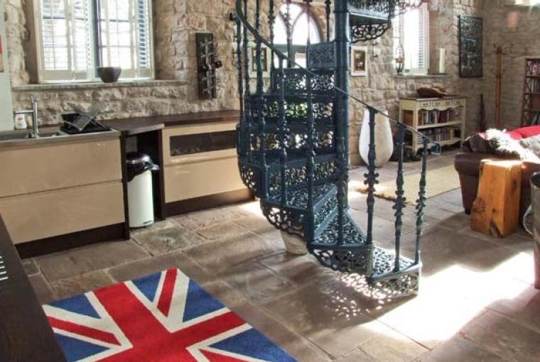 Kitchen, Old Wye Valley Chapel, Monmouthshire, Wales