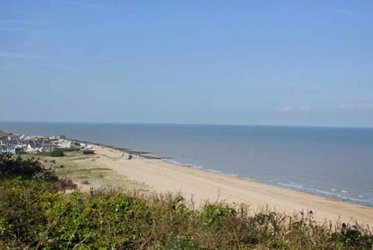 The Kent coast