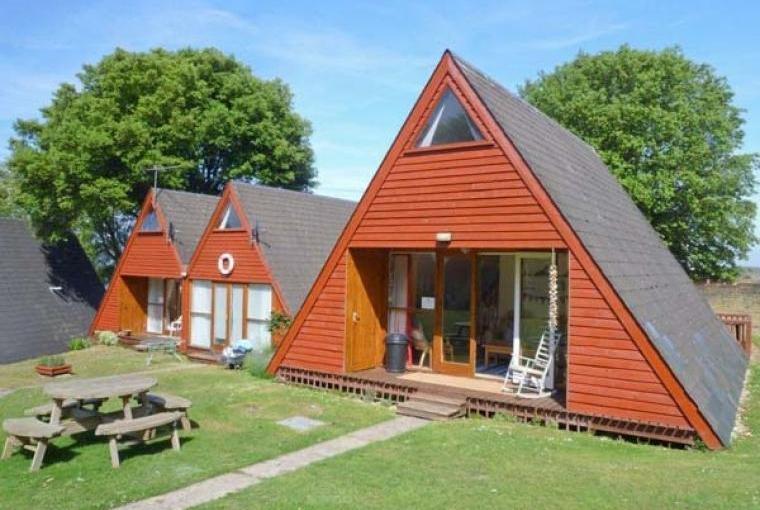 Holiday lodges at Kingsdown Park