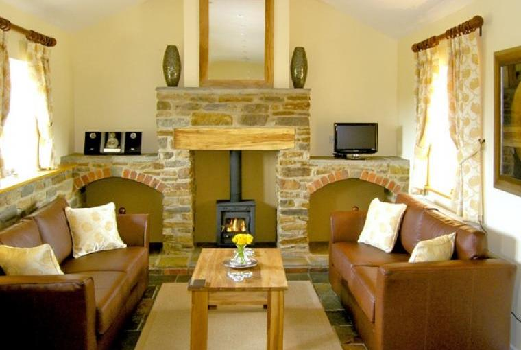 Lounge at Valley View Cottage