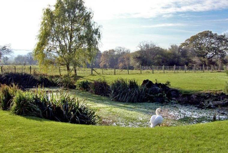 Escape to an award winning farm near the Clwydian Hills