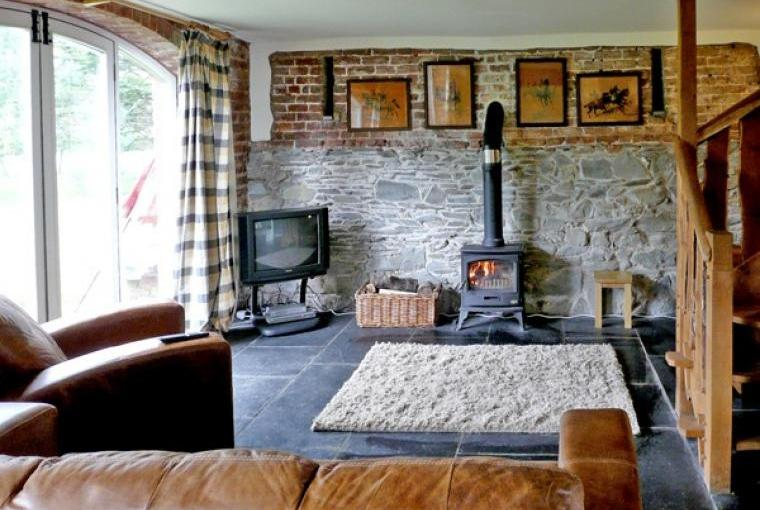 Comfy lounge at Clwydian Hills Coach House