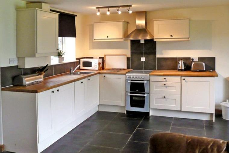 Kitchen at Clwydian Hills Coach House