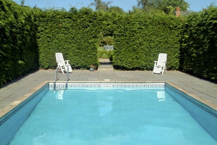Outdoor pool (open in summer months)