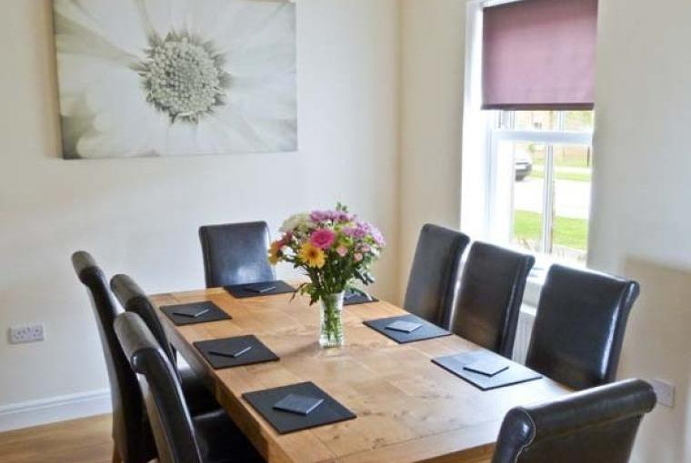 Dining area at Maris Cottage