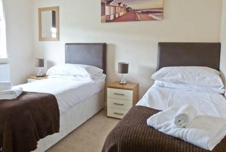 Comfortable bedrooms at Maris Cottage