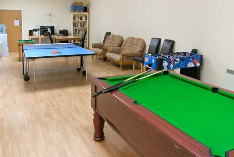 Shared games room