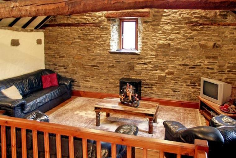 The Lounge, The Loft Country Cottage, Peak District