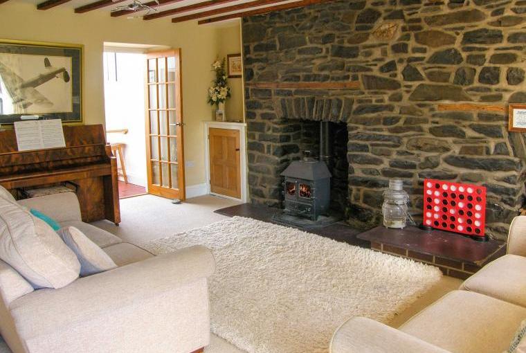 Lounge, Glynmoor Coastal Cottage