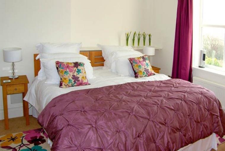 Beautifully presented bedrooms at Brodawel