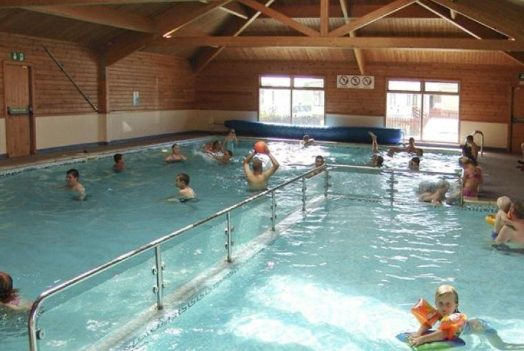 Indoor swimming pool at owner's nearby caravan park