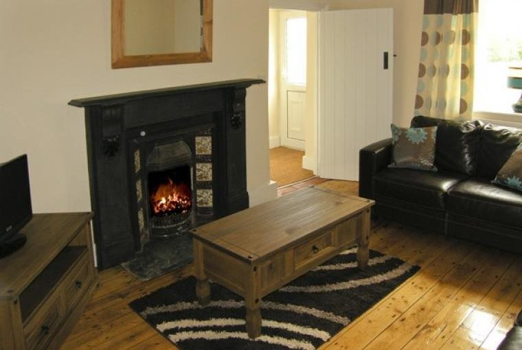 Lounge at Ty Mawr Farmhouse