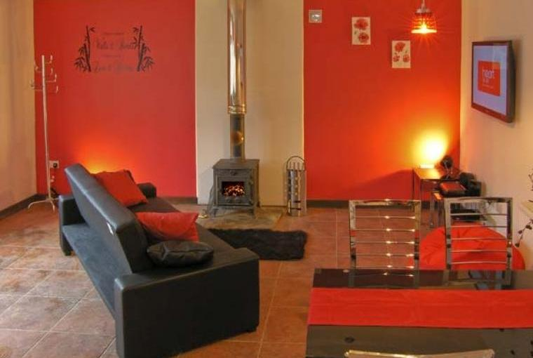 Open plan living area,  The Stables Cottage for Two - Llandysul, Ceredigion, Wales