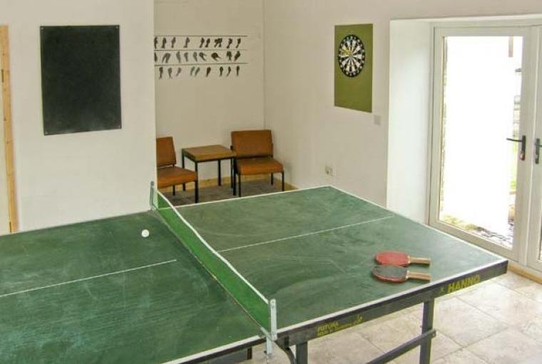 Shared use of games room