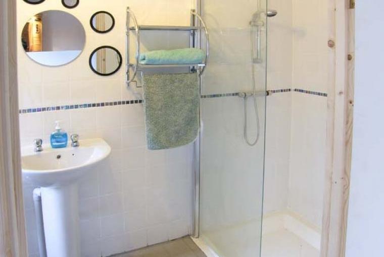 Bathroom, The Stables Cottage for Two - Llandysul, Ceredigion, Wales
